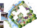 中房森林别墅庭院景观设计3套方案[方案二]