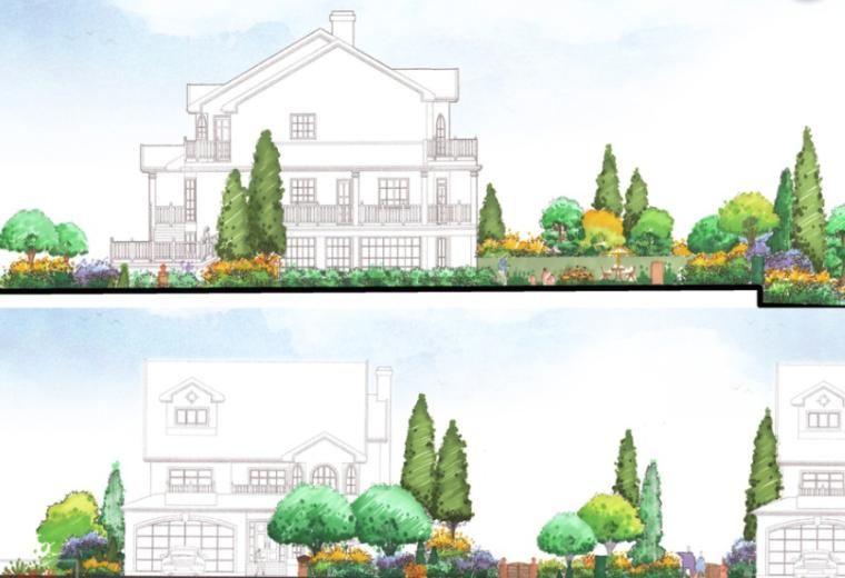 [上海]西郊庄园别墅庭院景观设计方案文本_2