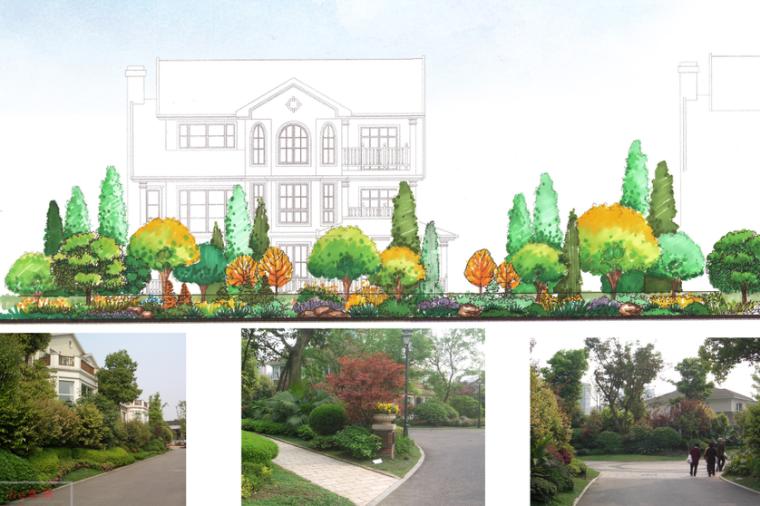 [上海]西郊庄园别墅庭院景观设计方案文本_3