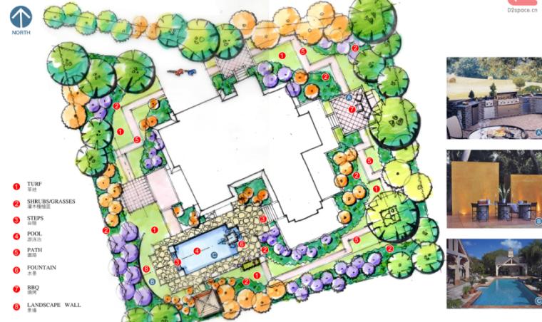 中房森林别墅庭院景观设计3套方案[方案三]_7