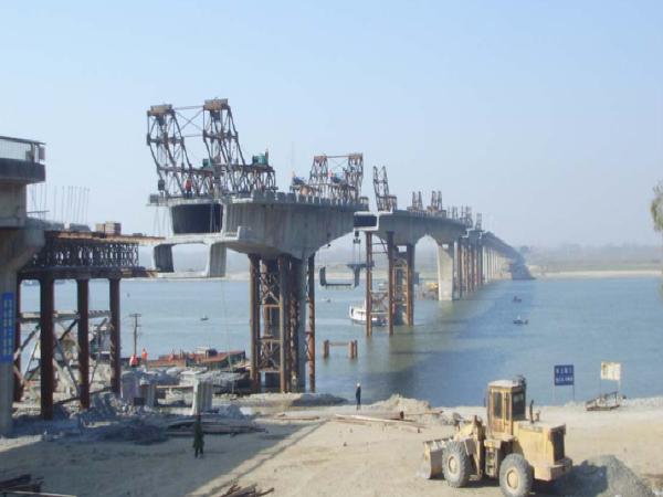 预应力桥梁张拉、压浆智能化施工控制技术