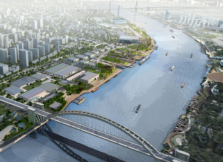 [上海]世博滨江公园详细规划景观方案文本