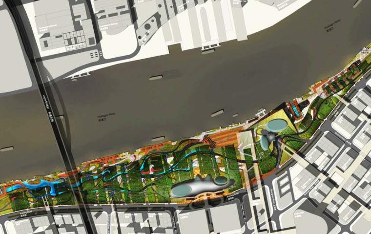 [上海]白莲泾码头公园概念方案文本