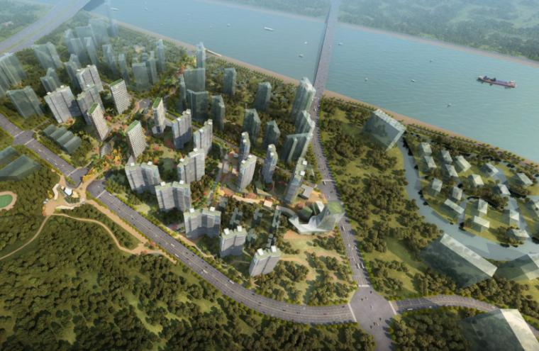 [广东]东桥村城中村城市改造方案文本-滨水