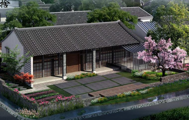 [杭州]岱山岛村村落改造庭院民宿样板区方案