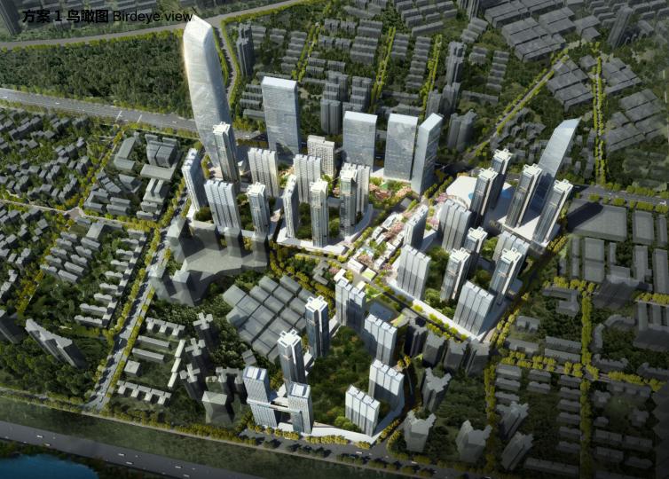 [深圳]金地工业区旧城改造概念设计方案文本