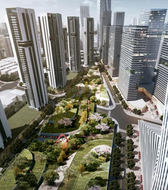 [深圳]金地工业区旧城改造概念设计方案文本_7