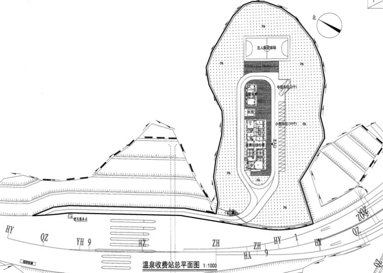 [贵州]高速公路景观绿化施工图-含招标,清单