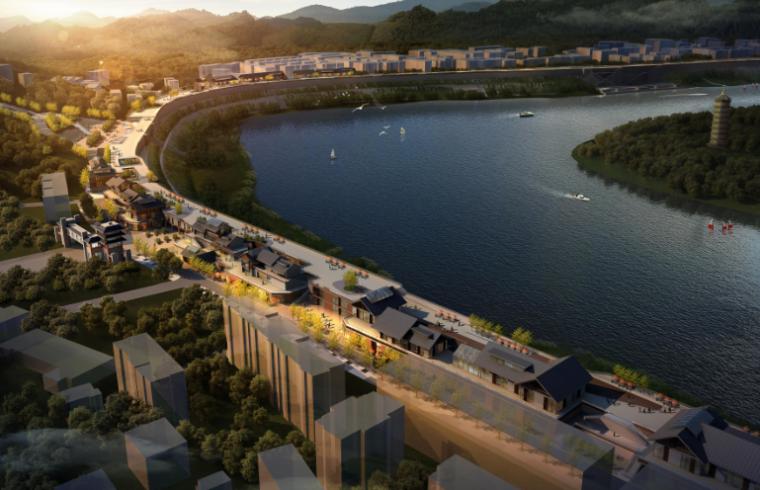 [四川]广安市滨江路改造工程修建性详细规划