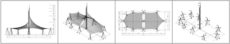 精选!10篇不同类型膜结构施工图~_7