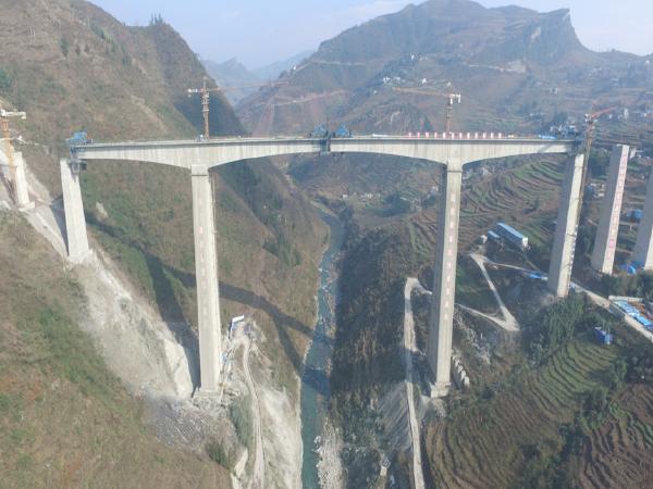 [云南]香坝河特大桥高墩施工交流汇报