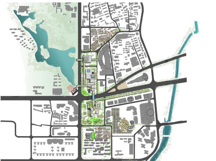 [深圳]罗湖蔡屋围项目建议规划书方案-城市规划景观设计-土木资料网