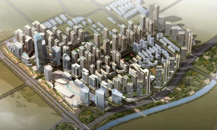 [深圳]大冲旧城改造概念性规划方案文本