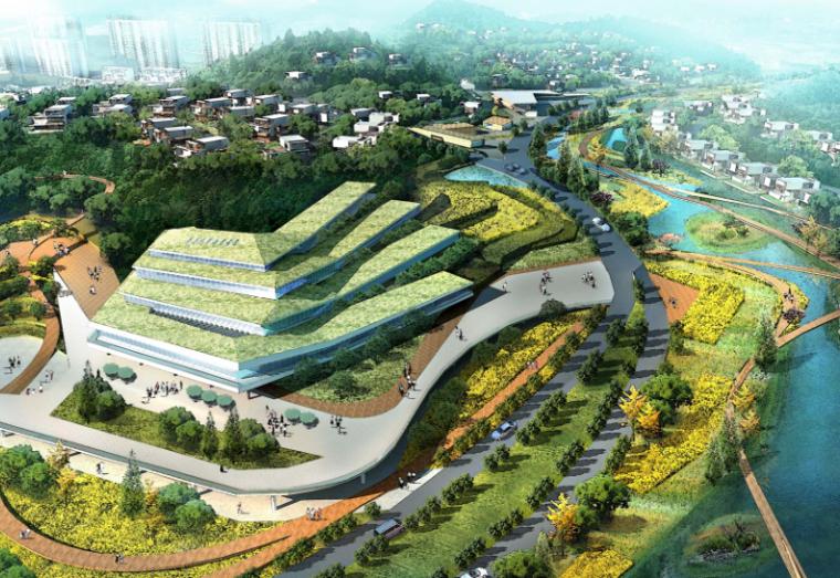 [四川]养生湿地公园生态旅游度假区规划方案_4