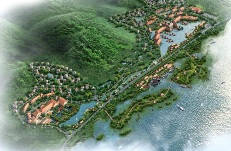 [浙江]无锡灵山温泉旅游度假养生中心方案
