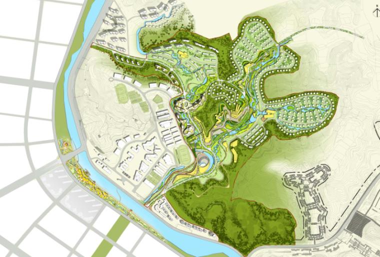 [四川]养生湿地公园生态旅游度假区规划方案_8
