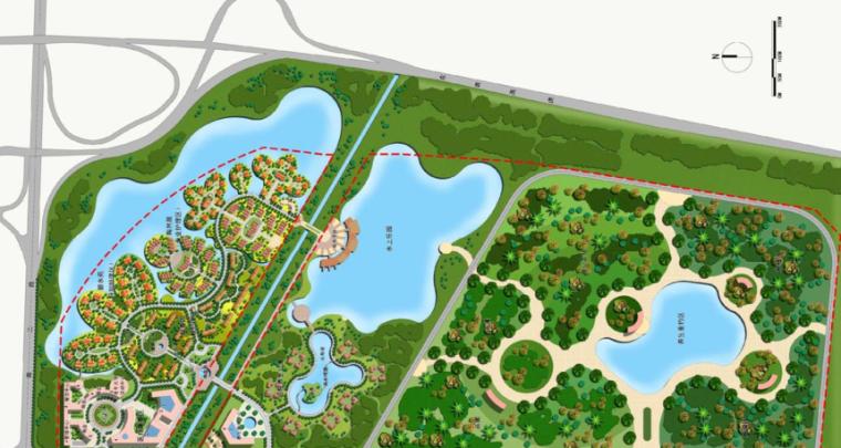 [山东]华林安老养生园景观规划方案报告_9
