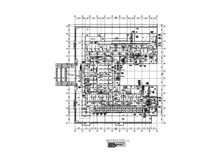 某四层综合楼暖通施工图
