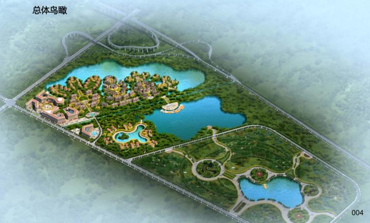 [山东]华林安老养生园景观规划方案报告_2