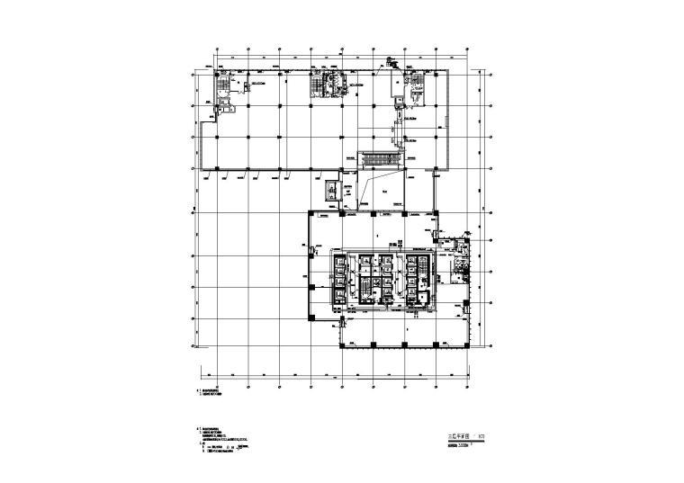 南通国际贸易中心暖通施工图含地下室人防