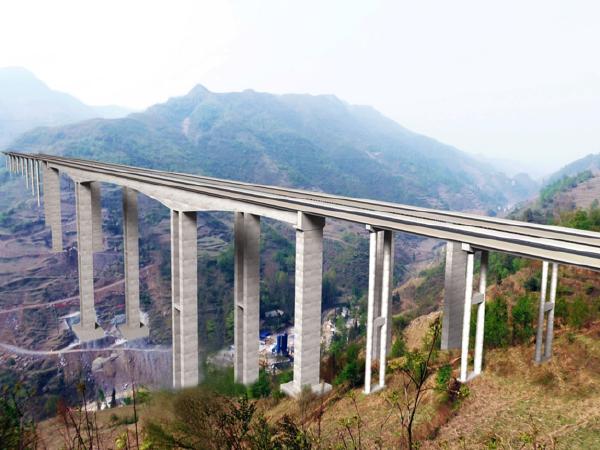 大桥空心薄壁墩施工爬翻结合工艺汇报