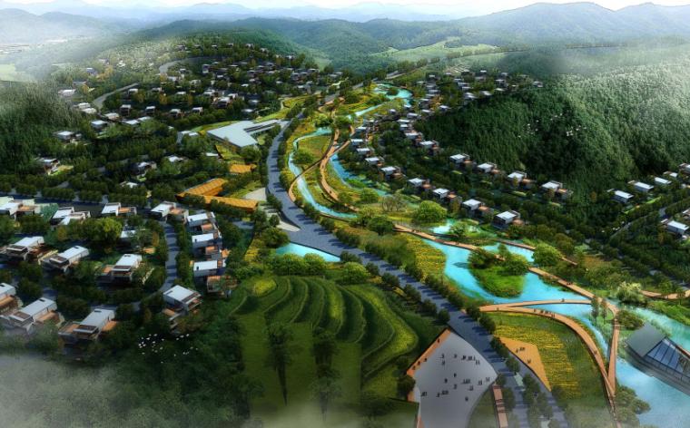 [四川]养生湿地公园生态旅游度假区规划方案_3