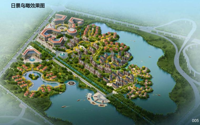 [山东]华林安老养生园景观规划方案报告