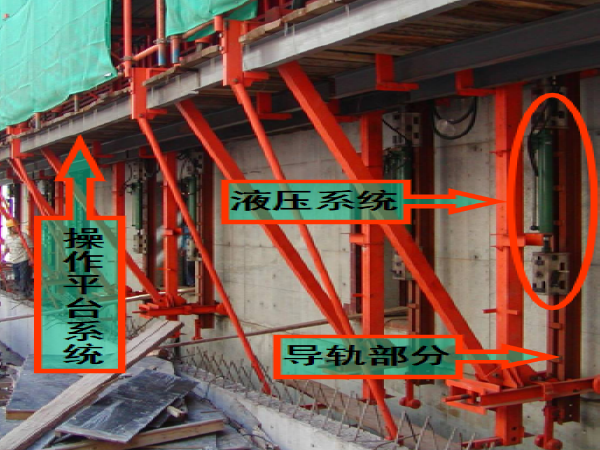 高墩薄壁结构液压自爬模施工简介