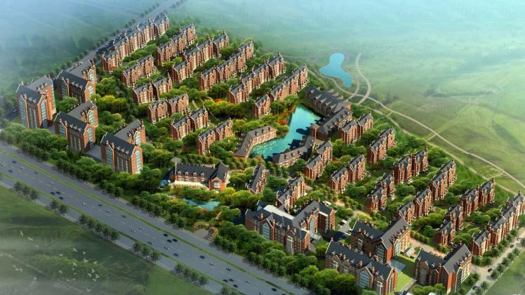 [辽宁]沈阳泗水养老综合体概念规划设计方案