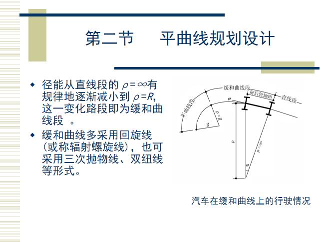 城市道路平面线形规划设计(78页)_2