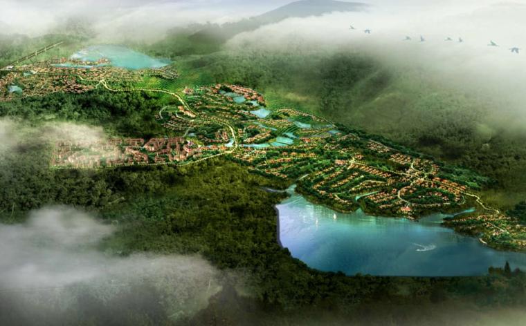 [海南]万宁热带林养生谷总体规划概念方案