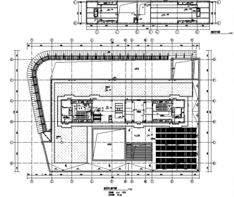 上海大型高层综合办公楼项目电气施工图