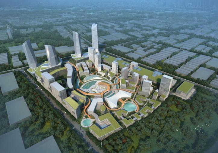 [成都]温江医院疗养新城园区建设规划方案