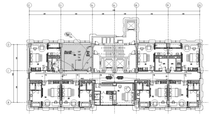 辽宁五星级连锁酒店室内机电设计施工图