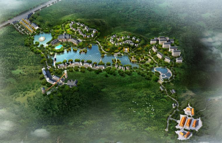 [福建]新中式风格养生养老旅游规划方案文本