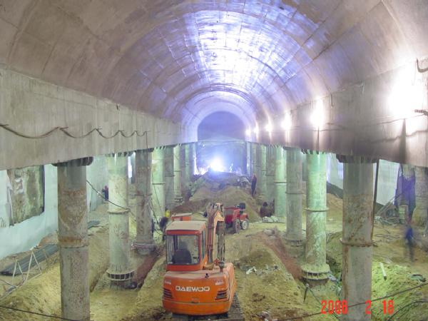 地铁暗挖施工技术讲座PPT(54页)