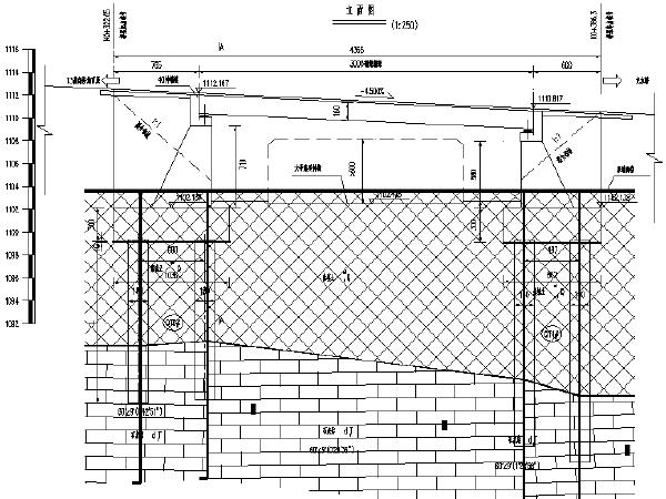机场道路扩建共三座桥梁设计施工图