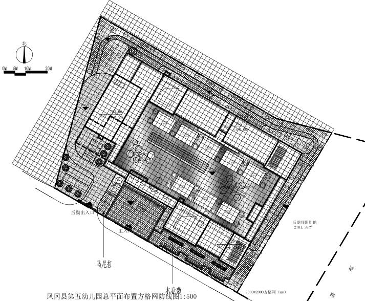 [贵州]凤冈县第五幼儿园景观施工图-校园景观-土木资料网