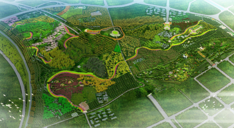 [河南]洛阳周山生态森林公园景观提升规划