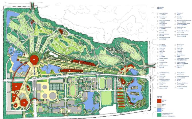 [湖北]武汉二妃山光谷体育公园景观创意方案