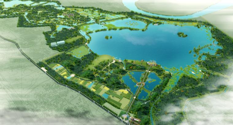 [安徽]淮南十涧湖国家城市湿地公园规划方案