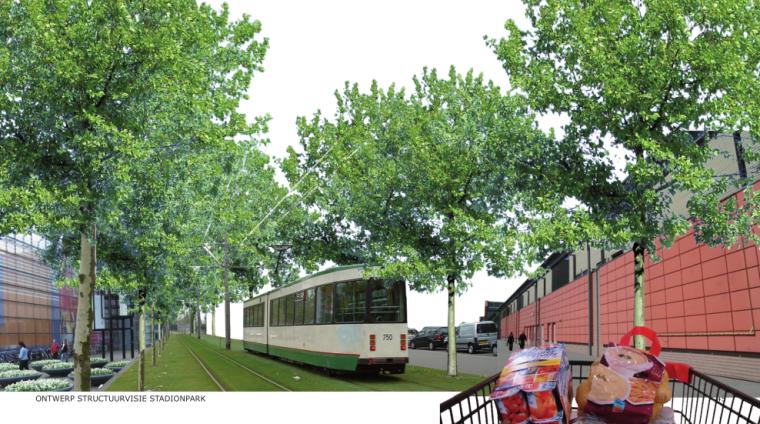 荷兰鹿特丹体育公园规划