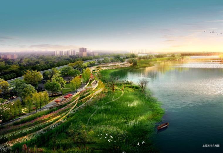 [四川]资阳滨水景观扩初设计景观方案文本