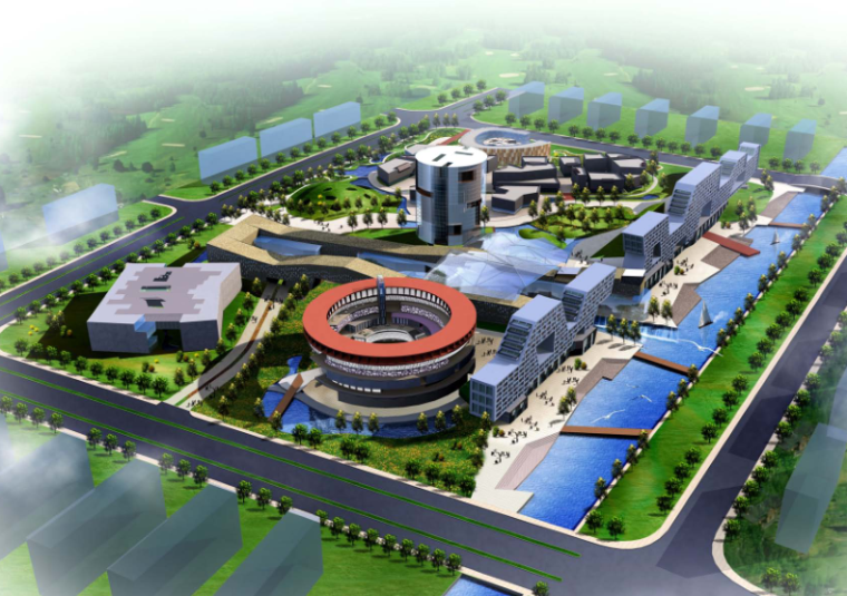 [江苏]张家港购物公园规划设计方案
