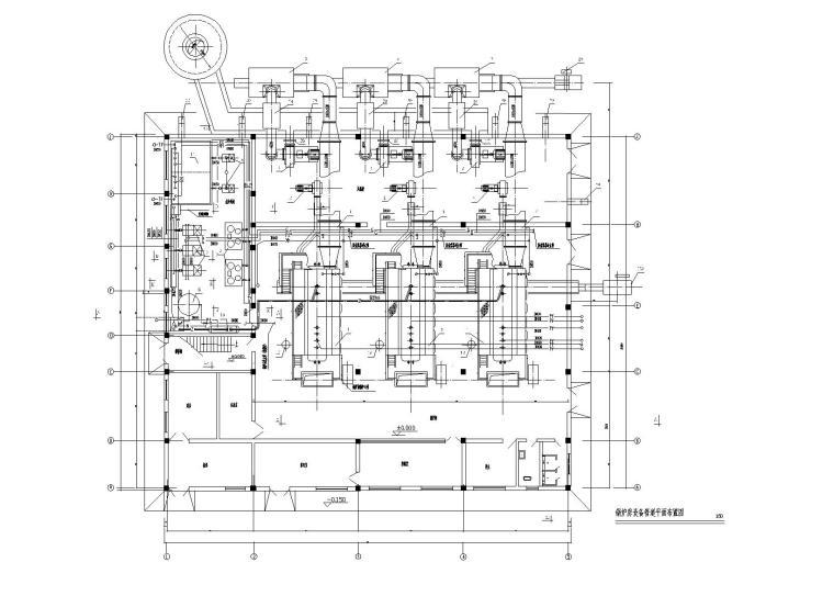 甘肃10t燃气锅炉房施工图纸