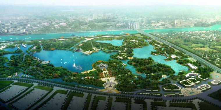 [陕西]西安世界园艺博览园概念性规划方案