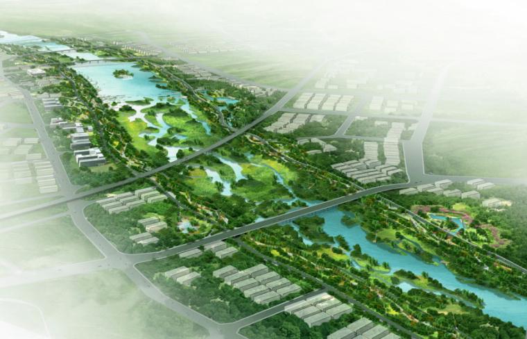 [陕西]西安灞桥区灞河公园景观规划设计方案