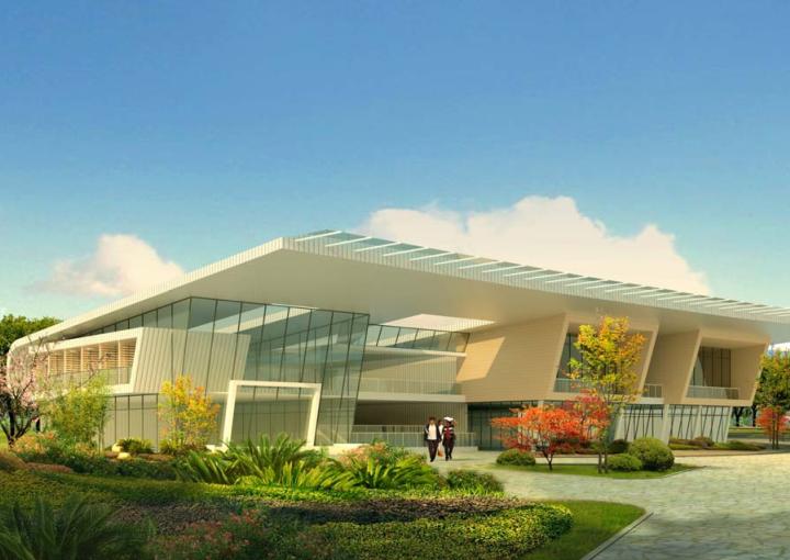 [山东设计院]鄂尔多斯体育公园初步规划设计