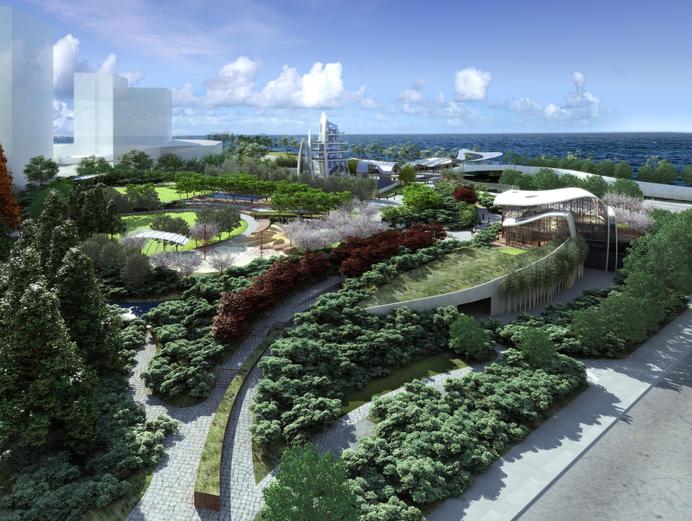 [浙江]杭州望江公园景观概念方案-含CAD平面