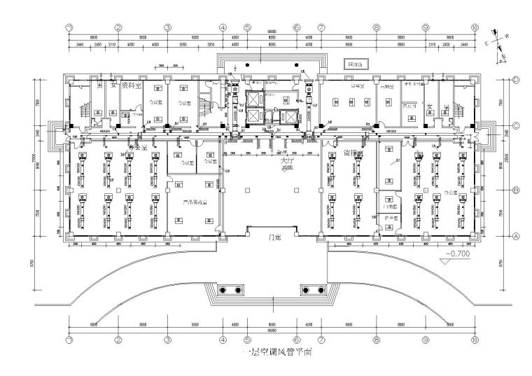 昆山某九层办公楼暖通施工图